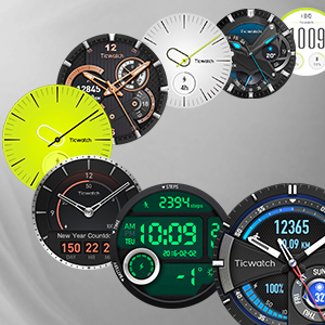 Ticwatch S Sport - Reloj inteligente con GPS, pantalla táctil OLED ...