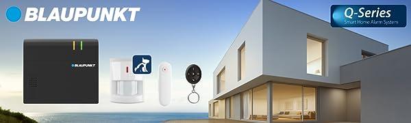 Blaupunkt 5000063 Q-Pro 6600 - Sistema de Alarma IP (12 V)