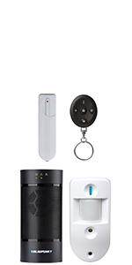 Blaupunkt 5000063 Q-Pro 6600 - Sistema de Alarma IP (12 V ...