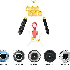 Nuevo kit de accesorios de repuesto para Roomba irobot 700series