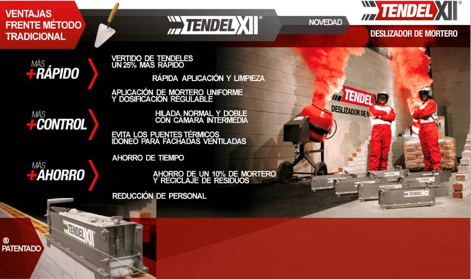 DESLIZADOR DE MORTERO F24: Amazon.es: Bricolaje y herramientas