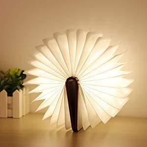 libro lampara led