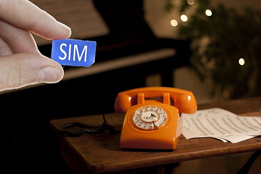 OPIS 60s Mobile: móvil de sobremesa/teléfono Fijo con sim/teléfono ...