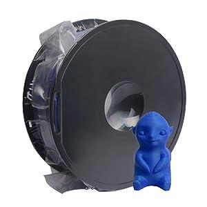 GEEETECH Filamento PLA 1.75mm para impresión 3D, 1kg Spool, Negro ...