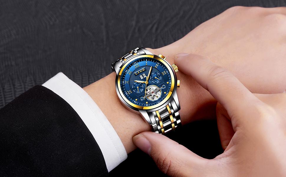 Este reloj de diseño empresarial, casual y especial irá muy bien con cualquier atuendo y cualquier ocasión.