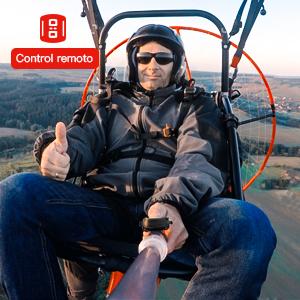 Camara deportiva remote control