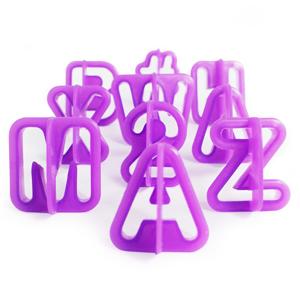 Letras & cifras para recorte - para una decoración única en fondant