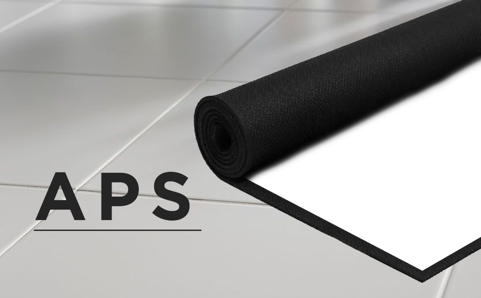 Duronic APS100/43 Pantalla de Proyección Fija con Velcro Adhesivo ...