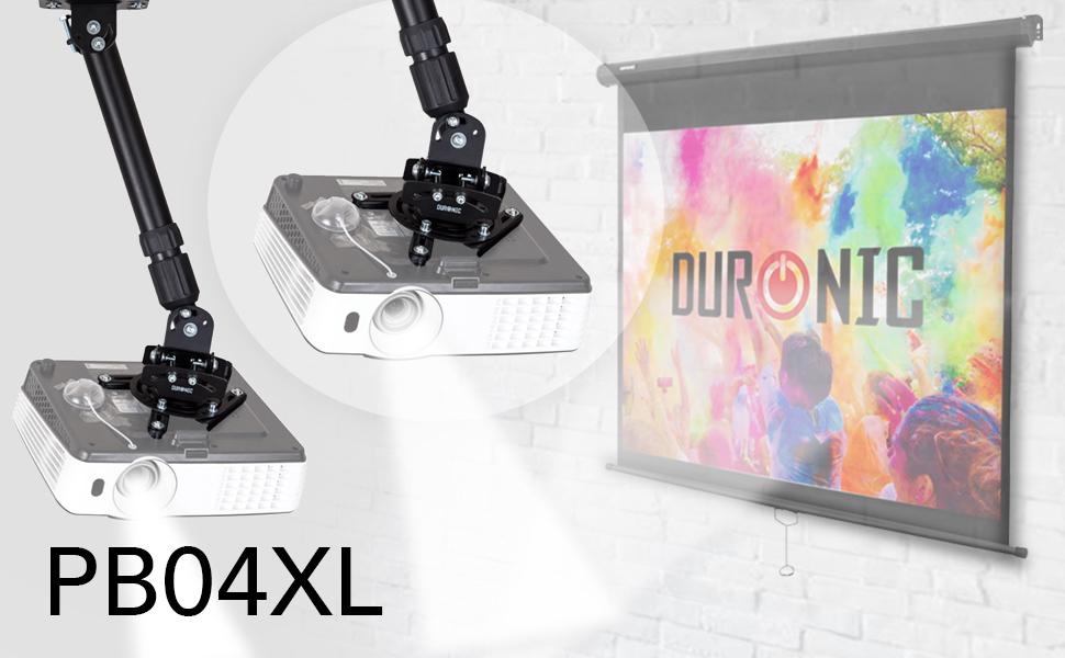 Duronic PB04XL Soporte para Proyector de Techo y Pared: Amazon.es ...