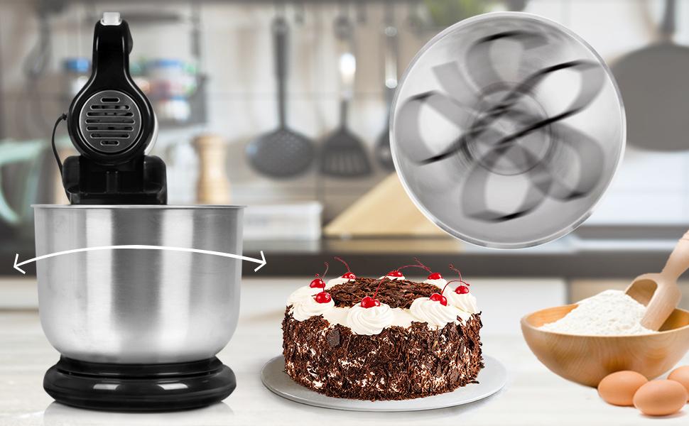 Con el robot de cocina 2 en 1 Duronic SM3, tendrás una batidora de varilla, pero con la comodidad de una batidora amasadora. La principal ventaja de las ...