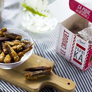 El Saltamontes Paprika insectos comestibles
