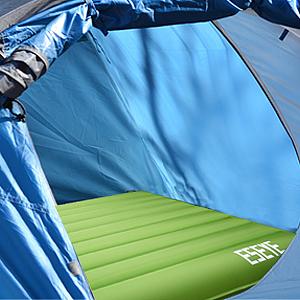 ESEYE Esterilla Acampada Hinchable Ultra Ligera, Portátil Impermeable Colchoneta Camping Durable Cómodo Dormir Pad con Almohada, Esterillas Inflables ...