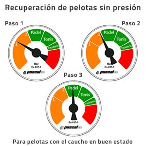 Recuperacion pelotas sin presion