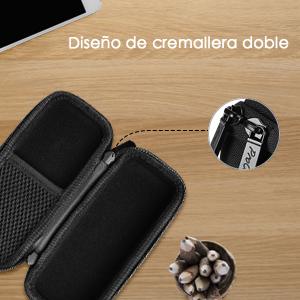ProCase Estuche para Philips Norelco OneBlade, Caja EVA Rígido de Viaje para Philips Norelco OneBlade Afeitadora Eléctrica Híbrida para Hombres, con ...
