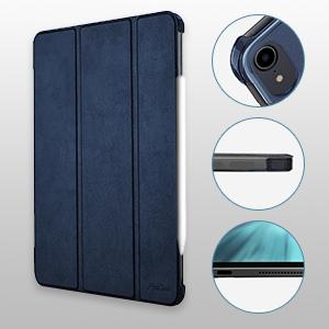 Los recortes precisos aseguran cero obstáculos para las funciones de tu iPad Pro 11, permitiendo el acceso completo a todos los botones, altavoces y otras ...
