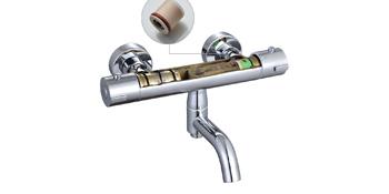 Lonheo Columna Ducha Termostática Diseño Anti-escaldado Set Ducha ...