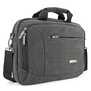 Un solución de transporte y almacenamiento para Macbook, ordenador portátil, notebook, ultrabook o tablet hasta 14-pulgadas y accesorios.