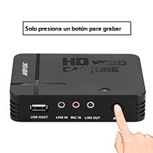 AGPTEK Game Capture HD - Capturadora para Grabar, Compartir y ...