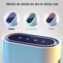 TTLIFE Purificador de Aire con Filtro HEPA Compacto, Air Purifier ...