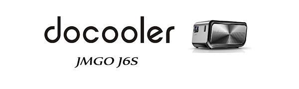 Docooler JMGO J6S Full HD Proyector DLP Android TV Box Altavoz ...