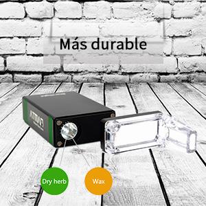 ... dispositivo. ☆ Una mitad de capacidad viene con agujeros de aire, la cámara de calefacción especial puede hacer que sus plantas y concentrados se ...