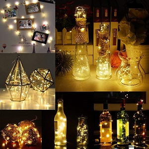 luces botellas