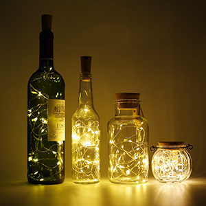 luces botella