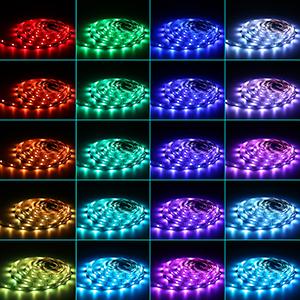 Flexibles Multicolor 300 LEDs Strip Tiras