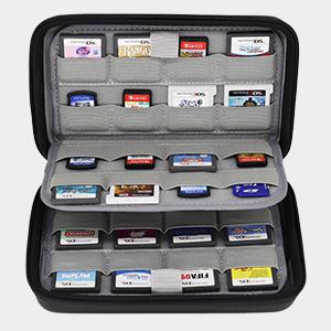 Sisma Estuche de juegos para 64 cartuchos Nintendo 3DS DS 2DS ...