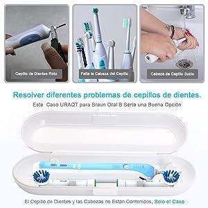 Cepillo de dientes roto ...