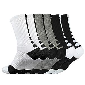 Cumplir con los estándares requeridos para los calcetines de baloncesto: buen paquete, diseño preciso de absorción de impactos, mayor rendimiento de ...