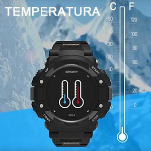 Ver los cambios de temperatura en tiempo real.
