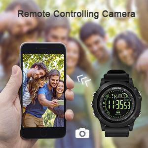 Smartwatch Fitness Tracker Hombre, GOKOO Reloj Deportivo Hombre Reloj Deportivo Niños al Aire Libre con Podómetro, Contador de Calorías, Cronómetro ...