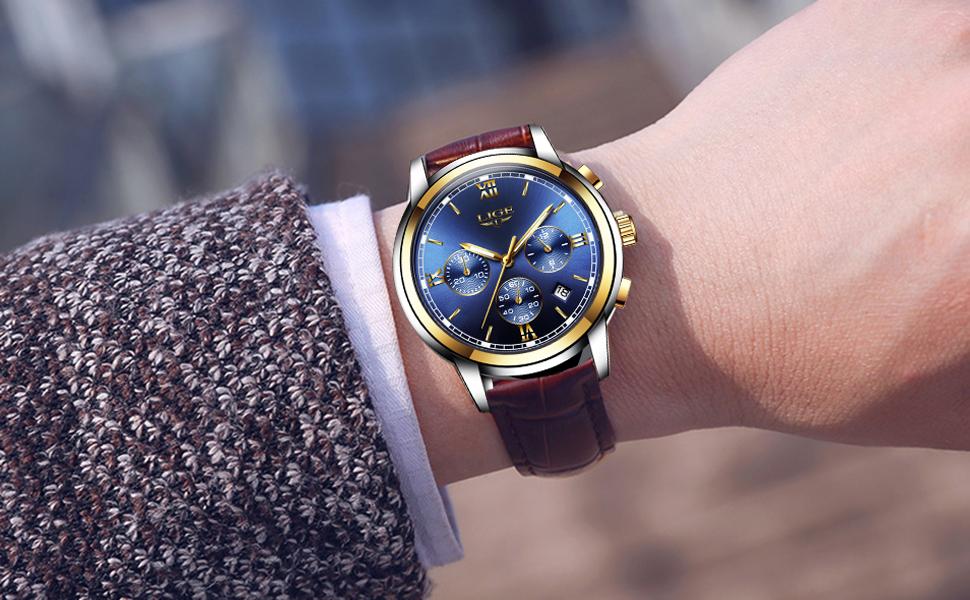 b109bfde49db Reloj de moda LIGE. Reloj elegante