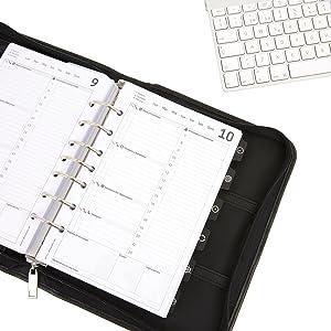 Planificador, Organizador y Agenda Profesional y Personal Completa GTM System. Tus sueños, tus deseos, tus metas y la organización, a tu alcance.