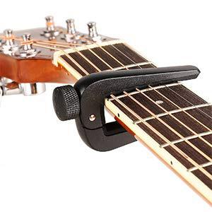 En guitarra acustica