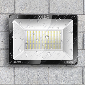 Foco LED 300W IP66 Luz de Seguridad Exterior Impermeable, 24000LM ...
