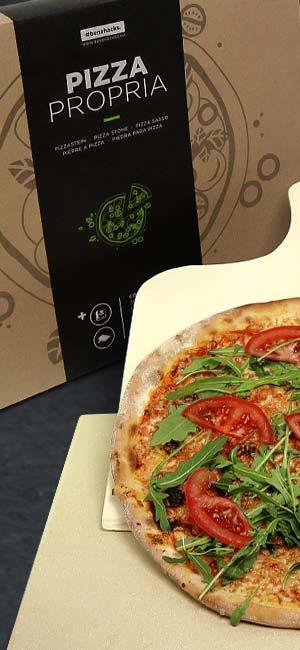 """Pizza a la piedra """"Propria"""""""