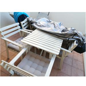 NASUM Funda Protectora para Muebles, Copertura Impermeable para Mesas Sillas Sofás, Cubierta de Exterior 315cm x 160cm x 74cm