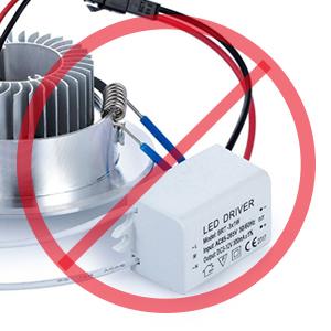 Lamparas Plafones Focos LED Empotrables de Techo Downlights LED 10W Luz Calida 3000K IP44 AC100~240V Agujero del Techo Ø90-105mm Pack de 3 de Enuotek