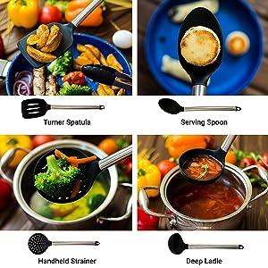 Turner: se usa para levantar o voltear alimentos durante la cocción ...