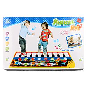 alfombra para piano musical