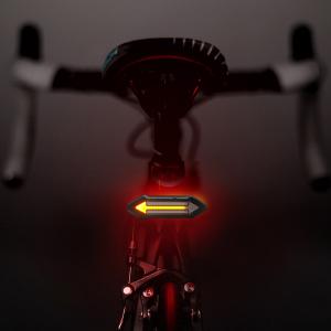 Luz Trasera para Bicicletas HAHAKEE Control Remoto Inalámbrico,Luz ...