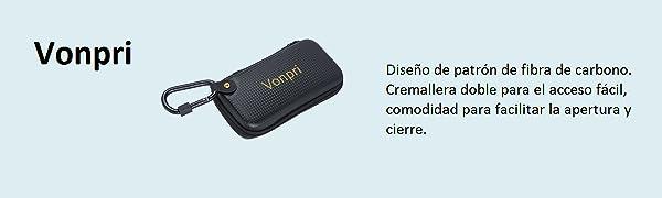 Funda para bateria externa de gran capacidad. Dimensión externa: 190*100*40mm (7,5*4*1,5pulgadas), dimensión interna: 165*75*30mm (6,5*3*1,2pulgadas), ...