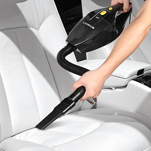 SUAOKI - Aspirador de Coche 12V, Aspirador de Mano Portátil 120w para Vehículos con 4000Pa Potente Aspiración (5M Cable, 2 filtros HEPA, Bolsa de Transporte y Otros Accesorios Complementarios): Amazon.es: Coche y