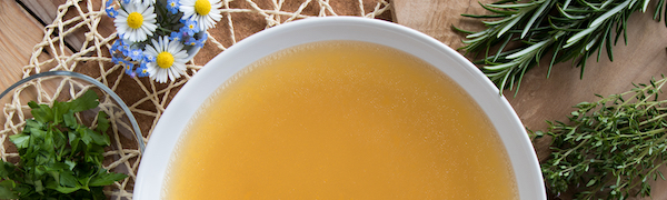 Caldo de hueso de carne - bone broth