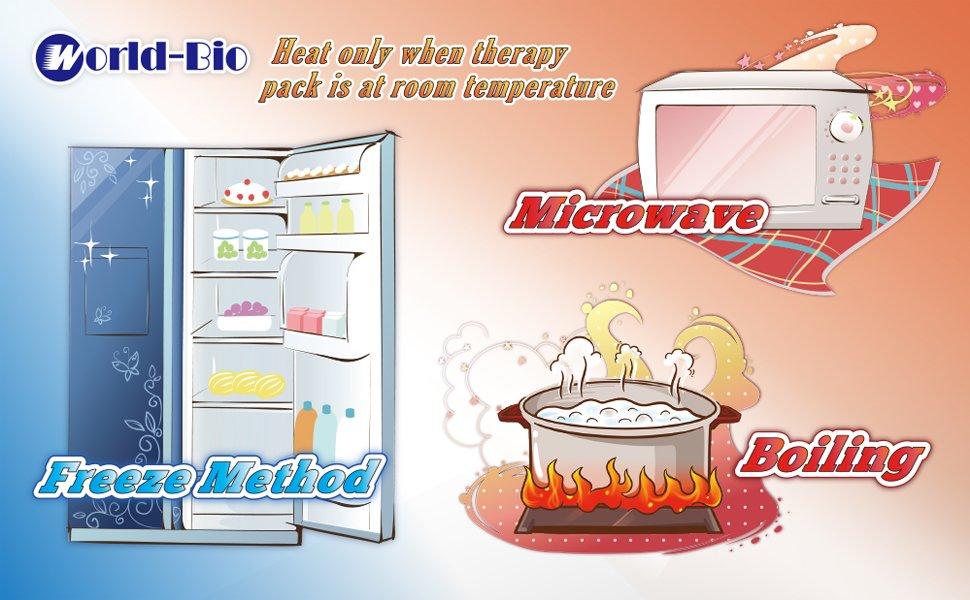 Paquete de gel de hielo para compresas frías y calientes - para ...