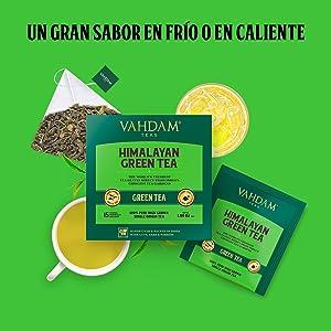Este té se puede usar para hacer una excelente taza de té caliente o de té helado.