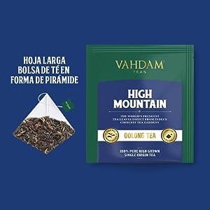 Esta extraordinaria mezcla de té de Oolong es la favorita de nuestro experto mezclador. Nuestro té de Oolong High Mountain es un té de Oolong único con un ...