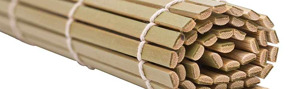 Exzact EX-SR04 Kit de bambú para enrollar Sushi – 4 Piezas – 2 x ...